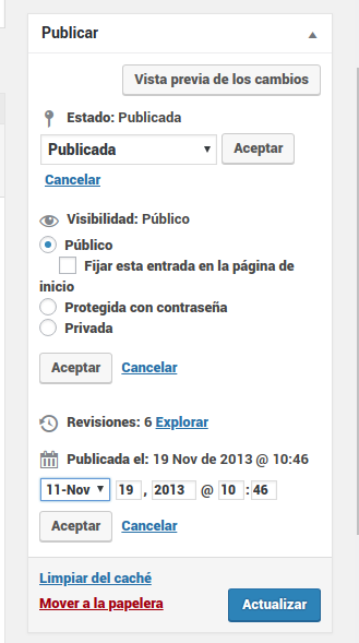 publicar-entrada-wordpress