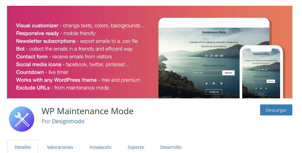 maintenance-mode-wordpress