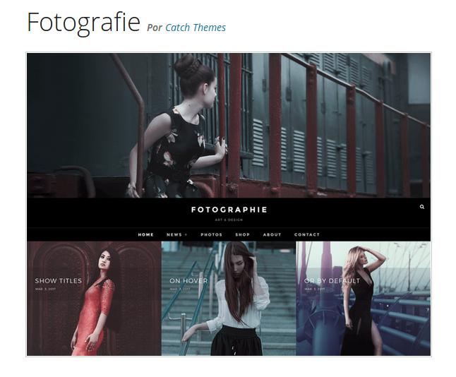 3 espectaculares plantillas gratuitas de Wordpress para portfolios ...