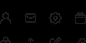 bibliotecas de iconos online