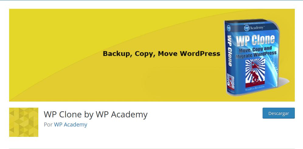 plugin backup wp-clone