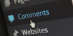 moderar comentarios autor