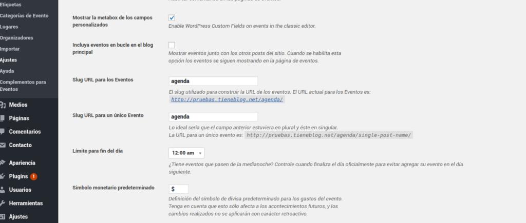 URL-events-calendar