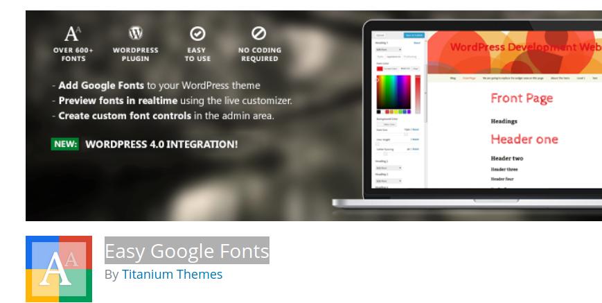 easy-google-fonts
